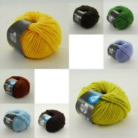 Fb 410 grün//gelb//orange 50 g Wolle Kreativ Elastico Print Lana Grossa