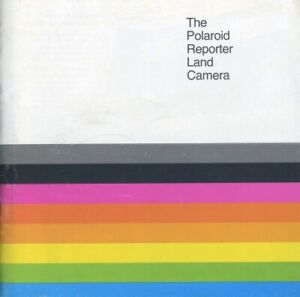 Polaroid Reporter Land Camera Instruction Manual Original