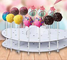 Cake Pop Stand Decoration Lollipop Decorating Display Cardboard Holder 44pcs New