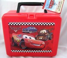 "Disney The Cars McQueen & Friends 9"" Plastic Lunchbox Lunch bag-Cars Lunchbox"