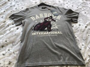 Barbour Cotton T-Shirt Size Medium new with tags