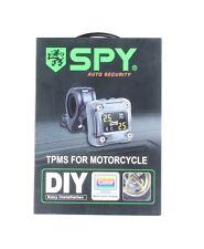 SPY Motorcycle TPMS tire pressure monitoring kit 2 external sensor 0-3.5BAR PSI