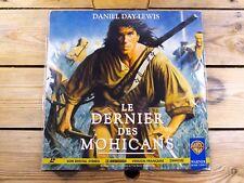Le dernier des Mohicans LASERDISC LD PAL Daniel Day-Lewis 1992