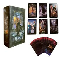78Pc/Set WITCHES TAROT DECK CARDS DIVINATION ESOTERIC FORTUNE TELLING FOURNIER.