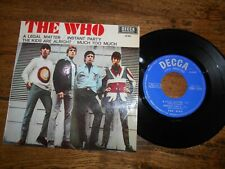"THE WHO ""A LEGAL MATTER""+3 SUPER RARE 7"" EP SPANISH 1966 MOD SPAIN EX ¡¡"