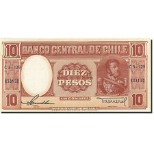 Billets, Chile, 10 Pesos = 1 Condor, 1947-1948, Undated (1947-1958) #267168