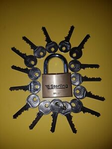 50mm padlock  with extra  keys
