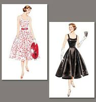 V2902 50s fifties style dress SEWING PATTERN, Vintage Vogue size 6-22 retro 1950