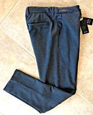 Armani Exchange A X Cotton Pique Pants Mens L 36 x 30 Gray 6XZP81 ZJD1Z NWT FAB!