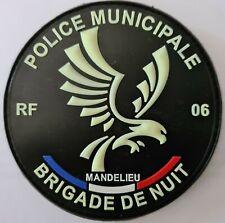 Ecusson Police Municipale de Mandelieu 06 Brigade de Nuit (Collection)