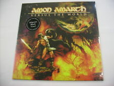 AMON AMARTH - VERSUS THE WORLD - LP ULTIMATE BLACK VINYL NEW SEALED 2017