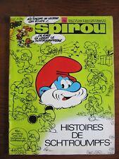 magazine spirou 1723 + mini récit 526 + documentation
