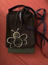 Super Rare Dior Kaws Silver Bee Charm And Box With Ribbon