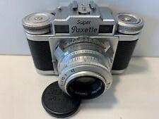 Braun Super Paxette II Filmmerkscheibe nur Zahlen Variante Cassarit E 1:2,/45