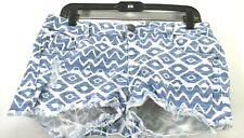 Joe Boxer Girls Juniors Size 11  Cotton Blend Cutoff Denim Stretch Jean Shorts