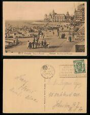Mayfairstamps Belgium 1937 Ostende Visit Queen of Seaside Resorts Slogan Cancel