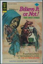Gold Key Comics Ripley's BELIEVE It Or NOT True Ghost Stories #60 VFN 8.0