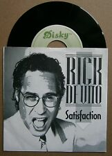 "7"" Rick DeVito Satisfaction Holland Ps 1987 Nm Rolling Stones"