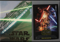 a1506 Star Wars the Force Awakens Japanese Movie Pamphlet Program + Chirashi