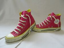 CONVERSE All Star Chuck Taylor High Top Trainers, Pink, Size UK 6, Eur 39