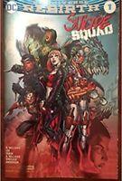 DC Universe Rebirth Suicide Squad 1 Silver Foil NYCC Exclusive Harley Quinn