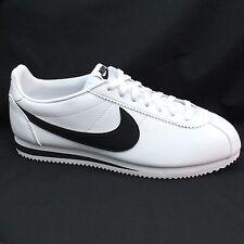 Nike Cortez Og Cuero Blanco Y Negro Vintage 749571-100 UK 11 EU 46 nos 12