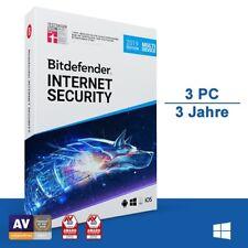 Bitdefender Internet Security 2019, 3 Geräte - 3 Jahre, Deutsch, Download