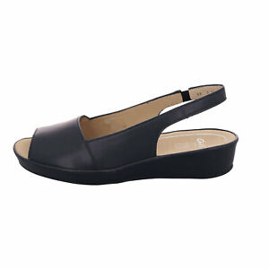 ARA Comfort Sandal Women Strappy Sandals Nappasoft Blue Size 38