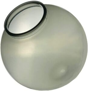 """KastLite 12"""" Acrylic Lamp Post Globe with 3.91"""" Fitter Neck"""