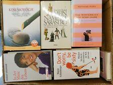 43 Bücher Hardcover Romane Sachbücher verschiedene Themen Paket 3
