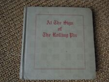 At The Sign of The Rolling Pin, Vassar College, 1916, Cookbook