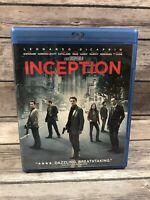 Inception (Blu-ray/DVD 3-Disc Set 2010) Leonardo DiCaprio Christopher Nolan