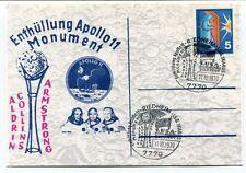 1970 Enthullung Apollo 11 Monument Aldrin Collins Armstrong Riedheim SPACE NASA
