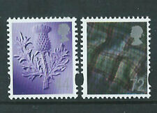 GB Scotland Definitive Stamp Set 29 March 2006