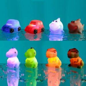 Fun Kids Flashing Floating Bath Time Play Water Sensory Aid Toy