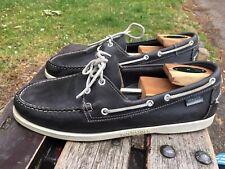 Mens Sebago USA Boating Loafer Shoes Sz 11.5 UK 46.5 EUR Leather VGC DOCKSIDES.