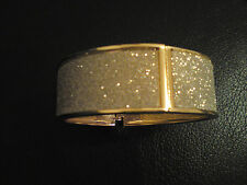 Brand New Gold with Silver Glitter Bangle