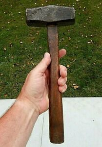 NEW YORK ONTARIO AND WESTERN RAILROAD (NYO&WRR) MARKED ANTIQUE CLUB HAMMER
