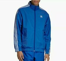 Adidas Men originals Lock up Tracksuit  top Blue Size XL ED6093 New with Tags