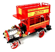 Working Live Steam Mamod Model 1920's Red London Omnibus Lb1