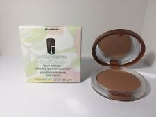 CLINIQUE TRUE BRONZE PRESSED POWDER BRONZER # 02 SUNKISSED NIB