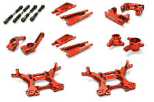 C26516RED Integy Billet Stage 1 Suspension Kit for Traxxas 1/10 Slash 4X4 LCG