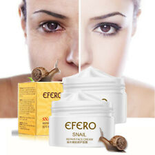 Snail Moisturizing Face Cream Anti Aging Whitening Wrinkles Firming Skin care