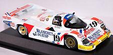 Porsche 956L Équipe Motorsport Marron 24h le Mans 1986 Blanchet Locatop #19 -