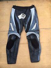 "TARGA Mens Race Leather Motorbike / Motorcycle Trousers UK 38""  Waist (#46)"