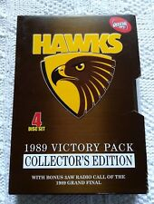 AFL HAWKS -1989 VICTORY PACK- COLLECTOR'S EDITION – DVD, R-ALL, LIKE NEW