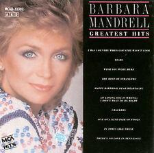 Greatest Hits by Barbara Mandrell (CD, Mar-1988, MCA Nashville)