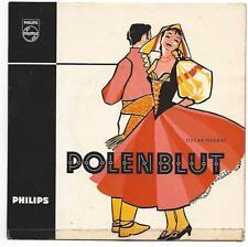Operette Polenblut von Oskar Nedbal : Radio Wien Gottfried Preinfalk 1958