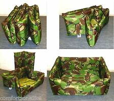 ZIPPY COLLAPSIBLE WATERPROOF DOG BED - CAMPING CARAVAN - CARBOOT TRAVEL KENNEL