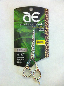 "Reg$90*Oster-Arius Eickert LEOPARD 5.5""Salon Styling/Haircutting Shears/Scissors"